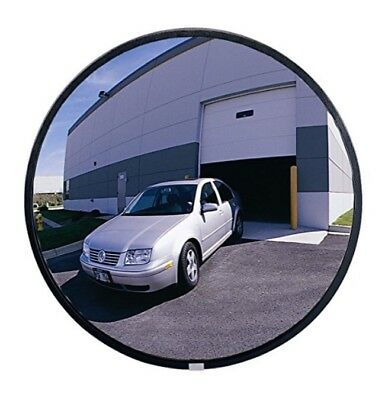"See All Circular Acrylic Heavy Duty Outdoor Convex Security Mirror 26"" Diameter"