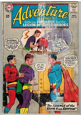 Adventure Comics #320 1964 Legion Of Super-Heroes Dc Silver Age Reader!
