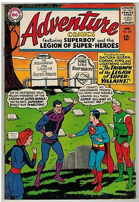Adventure Comics #331 1965 Legion Of Super-Heroes Dc Silver Age Nice!