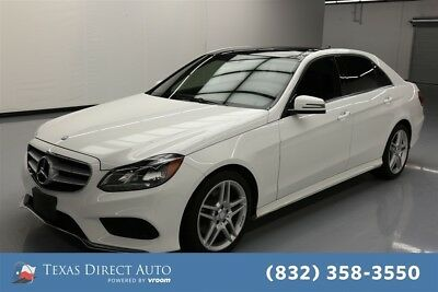2014 Mercedes-Benz E-Class AWD E 350 Sport 4MATIC 4dr Sedan Texas Direct Auto 2014 AWD E 350 Sport 4MATIC 4dr Sedan Used 3.5L V6 24V AWD