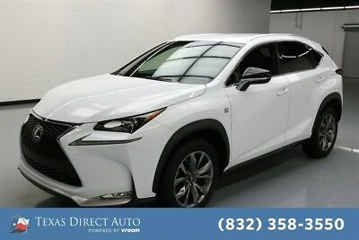 2017 Lexus NX F SPORT 4dr Crossover Texas Direct Auto 2017 F SPORT 4dr Crossover Used Turbo 2L I4 16V Automatic FWD