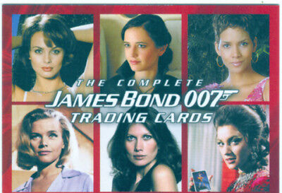 The Complete James Bond Promo Card P1