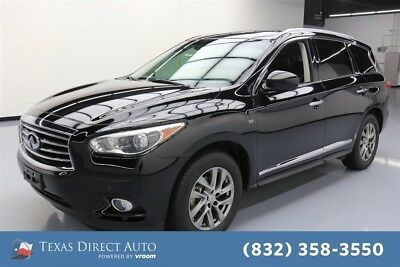 2015 Infiniti QX60  Texas Direct Auto 2015 Used 3.5L V6 24V Automatic FWD SUV Moonroof Premium