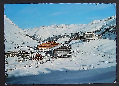 Obergurgl Austria postcard with 1973 stamp