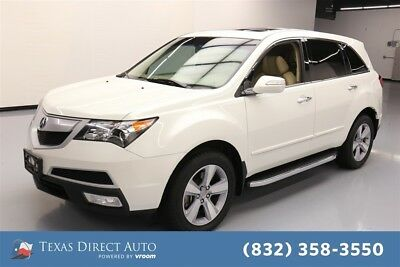 2012 Acura MDX SH-AWD Texas Direct Auto 2012 SH-AWD Used 3.7L V6 24V Automatic AWD SUV Moonroof