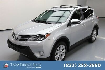 2015 Toyota RAV4 Limited Texas Direct Auto 2015 Limited Used 2.5L I4 16V Automatic FWD SUV