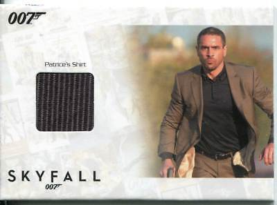 James Bond Autographs & Relics Relic Card SSC6 Patrice