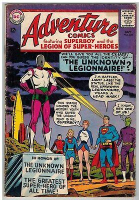 Adventure Comics #334 1965 Legion Of Super-Heroes Dc Silver Age!