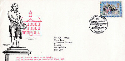 "Event Cover 1980 "" 200th Anniversary of Robert Raikes Sunday Schools  ""  - A753"