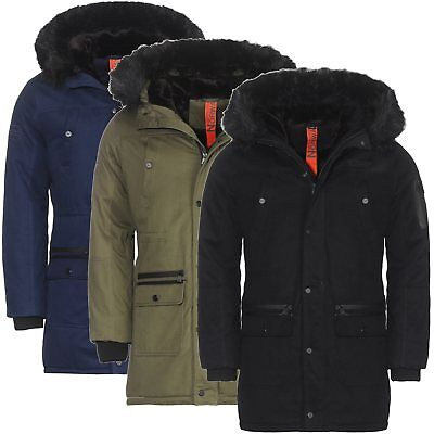 20d9ac19ea9c Geographical Norway Herren Winter Jacke Parka Wintermantel Outdoor Sehr warm