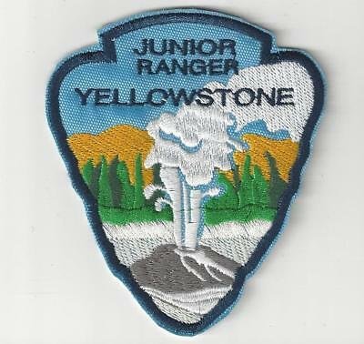 Old Faithful Yellowstone Junior Ranger  Souvenir Wyoming Patch