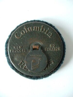 Vintage Columbia Records Gramophone Record Cleaner