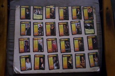 Lot of 63 James Bond 007 1995 Card Game Photo Cards BROSNAN,CONNERY,MOORE