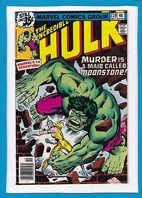 "Incredible Hulk #228_Oct 1978_Nm Minus_""murder Is A Maid Called Moonstone""!"