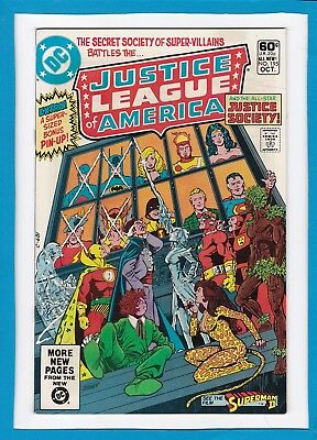 Justice League Of America #195_October 1981_Very Fine+_The Justice Society!