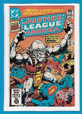Justice League Of America #196_November 1981_Very Fine_The Justice Society!
