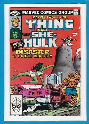 Marvel Two-In-One #88_June 1982_Nm Minus_The Thing_She-Hulk_Bronze Age Marvel!