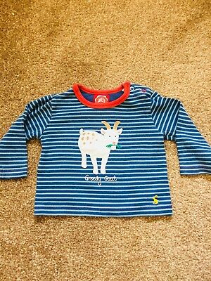 Joules Boys Long Sleeve Top 6-9 Months
