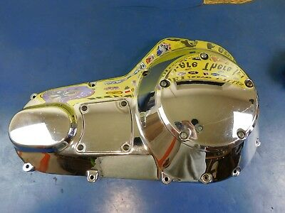 2000-2006 Harley Davidson Touring Chrome Outer Primary Cover W Derby 60685-99
