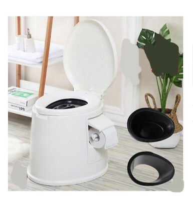 E02 Outdoor Indoor Portable Toilet Pedestal Pan Camping RV Caravan Parts M