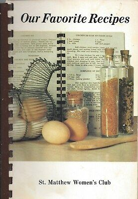 Gahanna Oh 1983 St Matthew Catholic Church Cook Book Our Favorite Recipes * Ohio