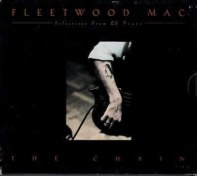FLEETWOOD MAC The Chain Selections From 25 Years  2-CD W BOOKLET