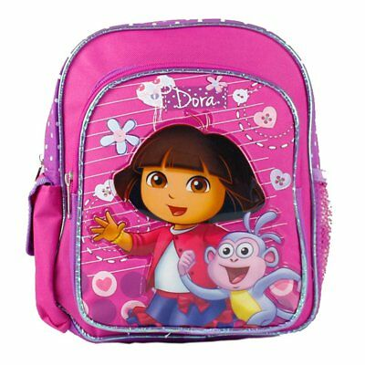 "Mini Backpack - Dora the Explorer - Boots on Stroll 10"" New 639815"