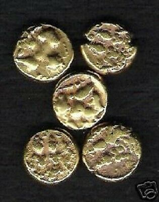 INDIA 17 th CENTURY *GOLD* COIN SHIVA PARVATI HYDER ALI RARE INDIAN MONEY 1 PCE