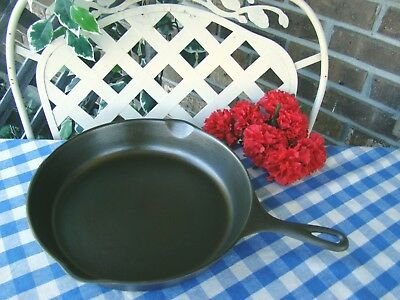 Wagner Ware Sidney -O- Cast Iron Skillet #10 Smooth Bottom – Cleaned & Seasoned