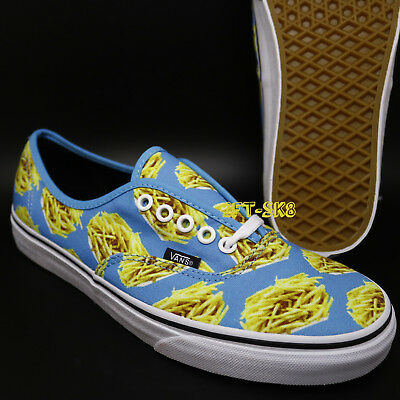 668d9c203e4 Vans Authentic Late Night Blue Atoll  Fries MENS SKATE SHOES   S8A104.316