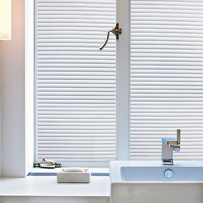 Window Blinds Window Film No Glue Static Film Non-Adhesive Privacy Window Decal
