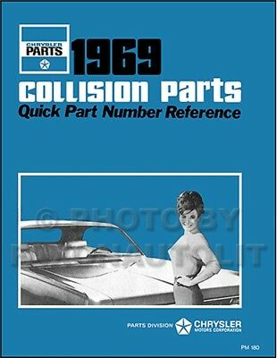 1969 Plymouth Karosserie Buch Satellite Road Runner GTX Barracuda Fury Valiant