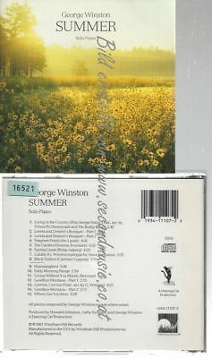 Cd--George Winston--    Summer