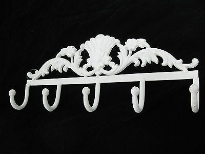 Hook Strip Coat Rack 42 cm Shabby Chic Wall Coat Rack