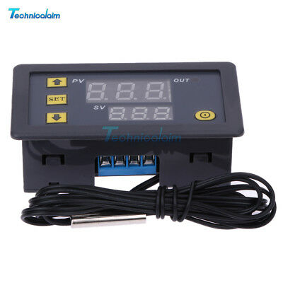 20A W3230 LCD 12V Digital Thermostat Temperature Controller Meter Regulator