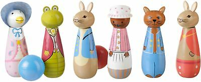 Orange Tree Toys PETER RABBIT SKITTLES Baby/Toddler/Child Wooden Toys BN