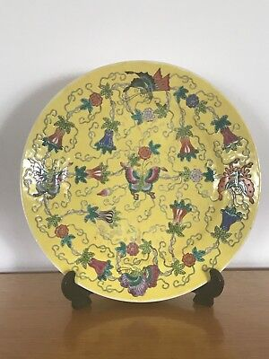 Antique republican  Chinese plate