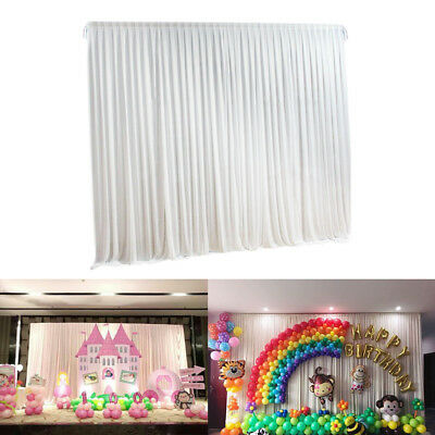 3*3M Wedding Backdrop Curtain Event Party Decor Customized Stage Background