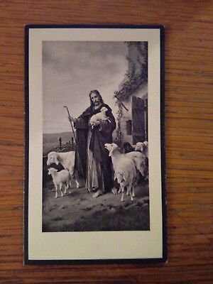 145209 Santino Holy Card LUTTINO CON IMMAGINE DONATE O SIGNORE