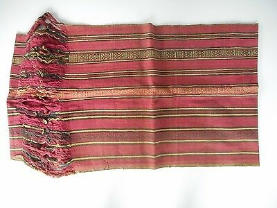 Old Hand Woven Tribal Textile / Ikat Timor Indonesia Oceanic