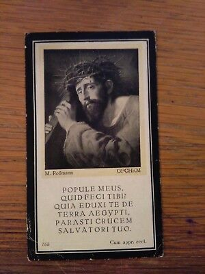 145210 Santino Holy Card LUTTINO POPULE