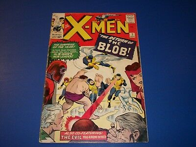 Uncanny X-men #7 Silver Age Magneto Key Wow Solid VG+ Scarlet Witch