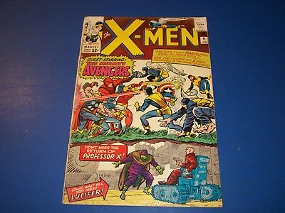 Uncanny X-men #9 Silver Age Avengers vs X-men Huge Key Wow Solid VG