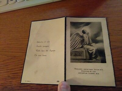 145210 Santino Holy Card LUTTINO REQUIEM