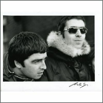 Oasis Liam & Noel Gallagher Print Signed By Photographer Michael Spencer Jones