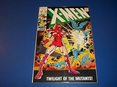 Uncanny X-men #52 Silver Age Comic Wow Nice looking book
