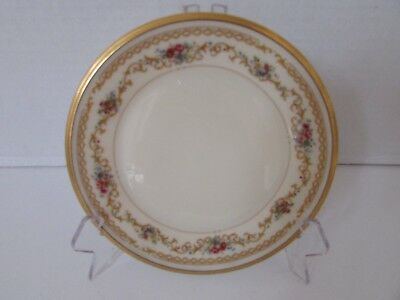 Lenox China Dinner  Queen's Garden Made In Usa Ivory Florals 10-5/8""