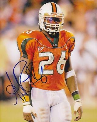 REPRINT - SEAN TAYLOR Miami Hurricanes Signed Autographed 8 x 10 Photo RP