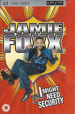 JAMIE FOXX - I MIGHT NEED SECURITY - UMD video for PSP