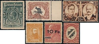 British Colonies & Others, Nice Forgery Lot Of Diff. Stamps, See..   #k421